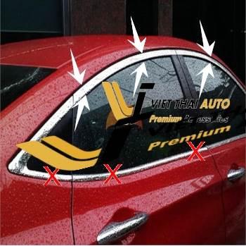 Nẹp viền cong kính Mazda 3