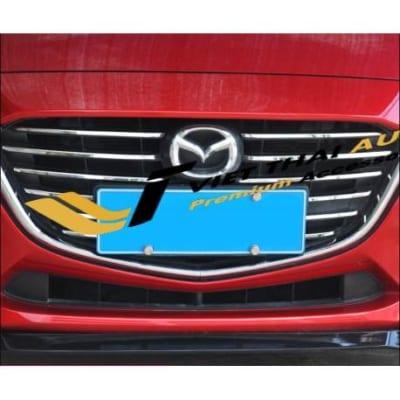 Ốp mặt ca lăng trên Mazda 3