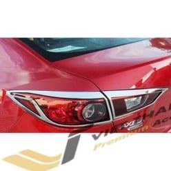 Ốp Viền Đèn Hậu (Sau) Mạ Mazda 2