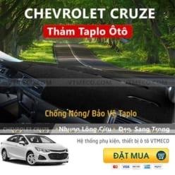 Thảm Taplo Nhung Lông Cừu Chevrolet Cruze
