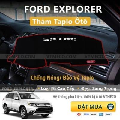Thảm Taplo Ford Explorer
