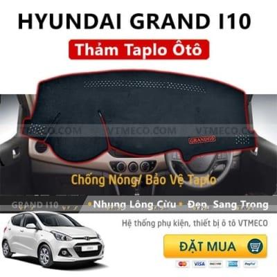 Thảm Taplo Hyundai Grand i10