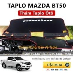 Thảm Taplo Nỉ Mazda BT50