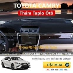 Thảm Taplo Nhung Lông Cừu Toyota Camry