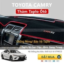 Thảm Taplo Nỉ Toyota Camry