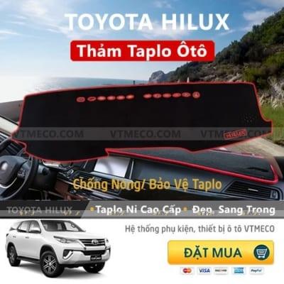 Thảm Taplo Toyota Hilux