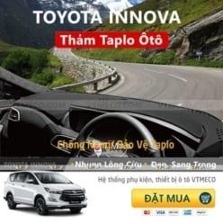 Thảm Taplo Nhung Lông Cừu Toyota Innova