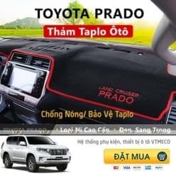 Thảm Taplo Nỉ Toyota Prado