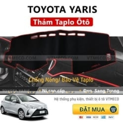 Thảm Taplo Nỉ Toyota Yaris