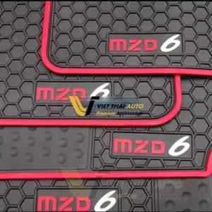 Lót sàn cao su theo xe Mazda 6