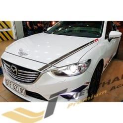Ốp viền đèn trước (pha) mạ Mazda 6