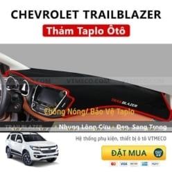Thảm Taplo Nhung Lông Cừu Chevrolet Trailblazer