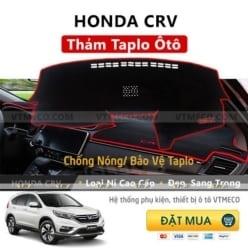 Thảm Taplo Nỉ Honda CRV