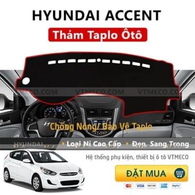Thảm Taplo Nỉ Hyundai Accent