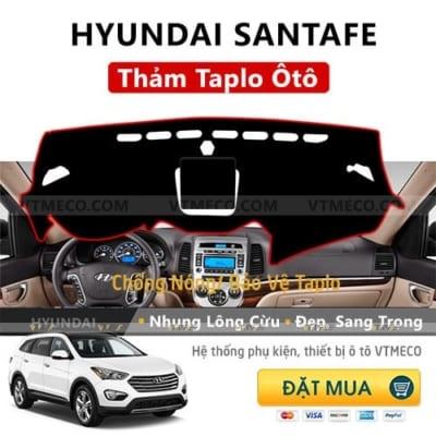 Thảm Taplo Hyundai Santafe