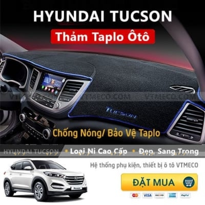 Thảm Taplo Nỉ Hyundai Tucson