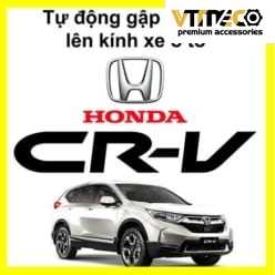 Gập Gương Lên Kính Tự Động Cho Xe CRV