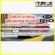 Gập Gương Lên Kính Tự Động Cho Xe Rio