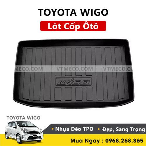 Lót Cốp Toyota Wigo