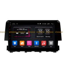 Lắp Màn Hình Ô Tô Đầu DVD Android 3G, 4G, Wifi, GPS Cho Xe Honda Civic - 1