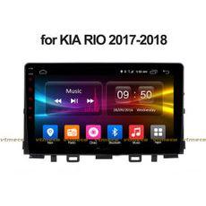 Lắp Màn Hình Ô Tô Đầu DVD Android 3G, 4G, Wifi, GPS Cho Xe Kia Rio