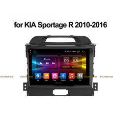 Lắp Màn Hình Ô Tô Đầu DVD Android 3G, 4G, Wifi, GPS Cho Xe Kia Sportage
