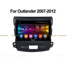 Lắp Màn Hình Ô Tô Đầu DVD Android 3G, 4G, Wifi, GPS Cho Xe Mitsubishi Outlander