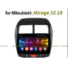 Lắp Màn Hình Ô Tô Đầu DVD Android 3G, 4G, Wifi, GPS Cho Xe Mitsubishi Mirage