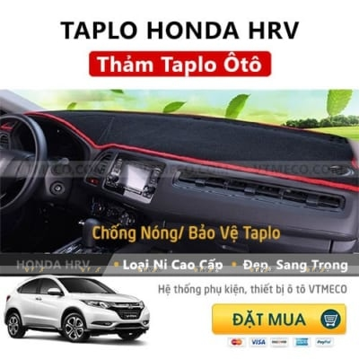 Thảm Taplo Honda HRV