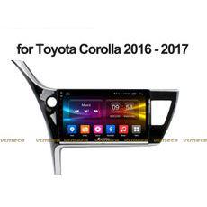 Lắp Màn Hình Ô Tô Đầu DVD Android 3G, 4G, Wifi, GPS Cho Xe Toyota Corolla Altis - 1