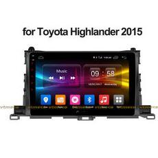Lắp Màn Hình Ô Tô Đầu DVD Android 3G, 4G, Wifi, GPS Cho Xe Toyota Highlander