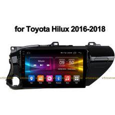 Lắp Màn Hình Ô Tô Đầu DVD Android 3G, 4G, Wifi, GPS Cho Xe Toyota Hilux