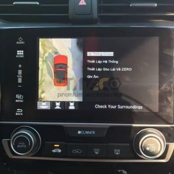 Lắp Camera 360 Độ Cho Ô Tô Honda Civic