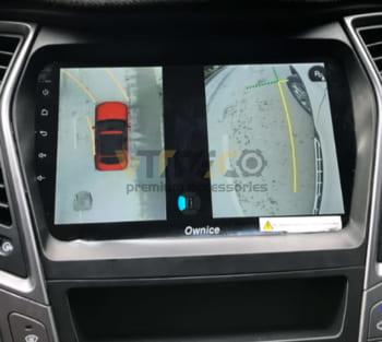 Lắp Camera 360 Độ Cho Ô Tô Hyundai Santafe