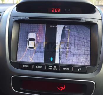 Lắp Camera 360 Độ Cho Ô Tô Kia Sorento