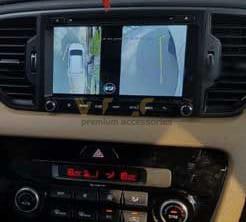 Lắp Camera 360 Độ Cho Ô Tô Kia Sportage