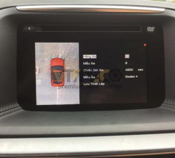 Lắp Camera 360 Độ Cho Ô Tô Mazda CX5