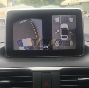 Lắp Camera 360 Độ Cho Ô Tô Mazda 3