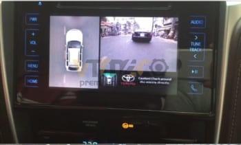 Lắp Camera 360 Độ Cho Ô Tô Toyota Fortuner 2