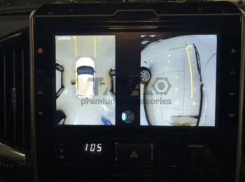 Lắp Camera 360 Độ Cho Ô Tô Toyota Land Cruiser Prado 4