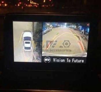 Lắp Camera 360 Độ Cho Ô Tô isuzu-d-max