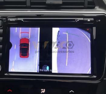 Lắp Camera 360 Độ Cho Ô Tô Honda City