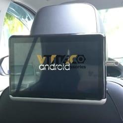 lắp màn hình gối đầu dvd android ô tô