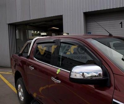 Nẹp Viền Chân Kính Ford Ranger