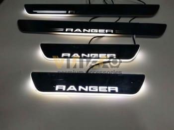 Ốp Bậc Chân Có Led Ford Ranger