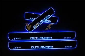 Ốp Bậc Chân Có Led Mitsubishi Outlander