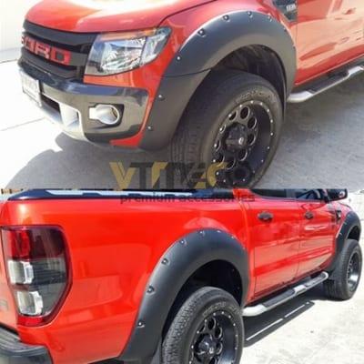 Ốp Cua Lốp / Vè Cua Bánh Ford Ranger