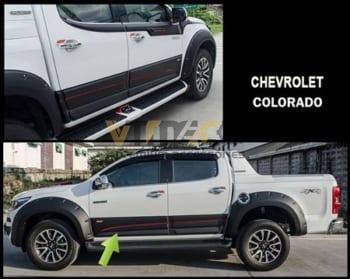 Ốp Hông / Nẹp Sườn Chevrolet Colorado