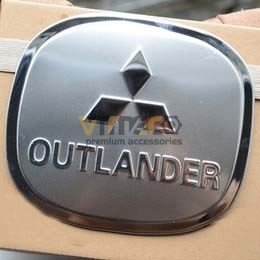 Ốp Nắp Xăng Mitsubishi Outlander