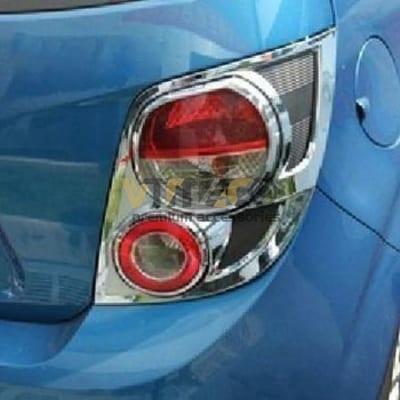 Ốp Viền Đèn Hậu (Đèn Sau) Chevrolet Aveo